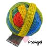 Schoppel Zauberball 100 - Sockengarn in vielen kreativen Färbungen aus 100% Schurwolle vom Merinoschaf Papagei