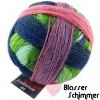 Schoppel Zauberball 100 - Sockengarn in vielen kreativen Färbungen aus 100% Schurwolle vom Merinoschaf Blasser Schimmer