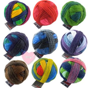 Schoppel Wolle  Zauberball® 100 aus 100% Merino Schurwolle